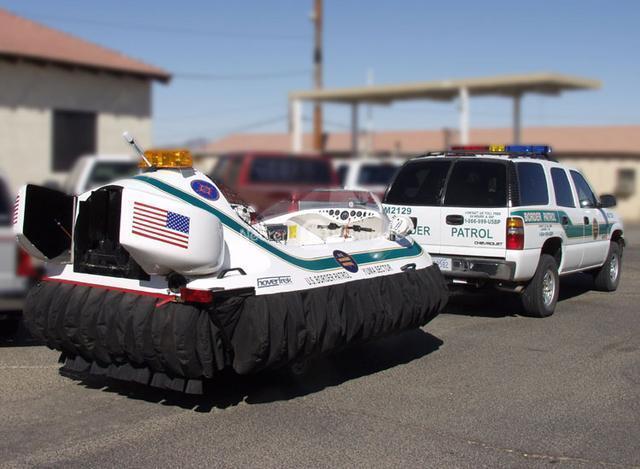 Rescue Hovercraft, Arizona Border Patrol, USA