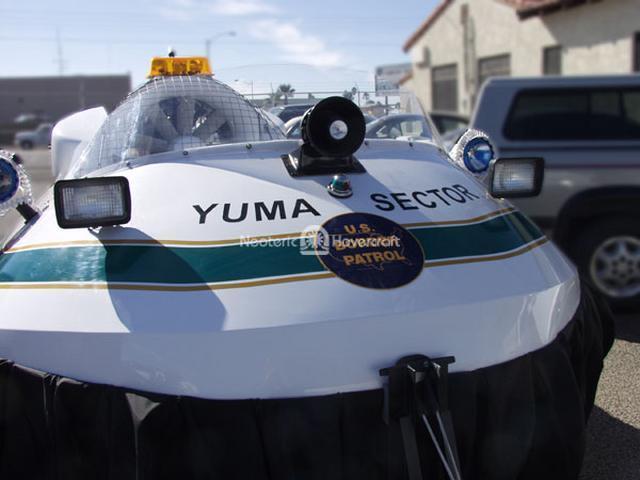 Closeup: Borstar Rescue Hovercraft