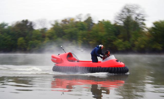 Rescue hovercraft pilot training image