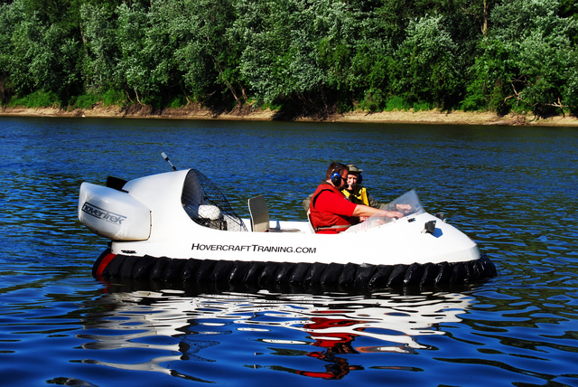 Sweden Hovercraft pilot training