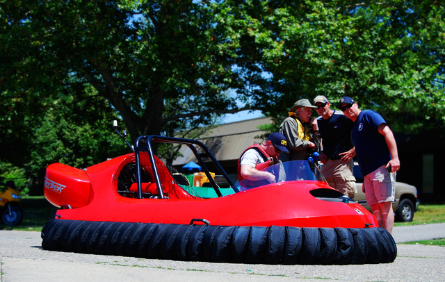 Gladstone Public Safety Neoteric rescue hovercraft