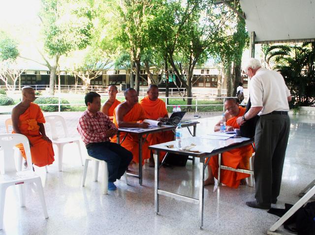 Photo Thailand flood rescue hovercraft training