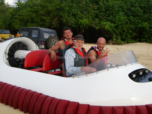 Image Commercial Hovercraft pilot training Punta Cana Dominican Republic