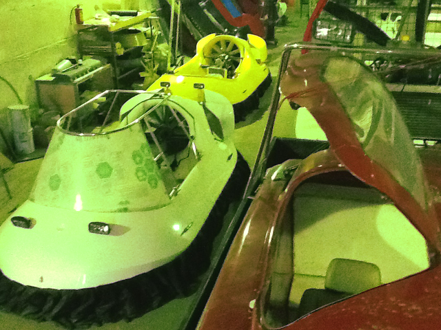 Russian counterfeit hovercraft AirWing Dangerous pirated Russian hovercraft