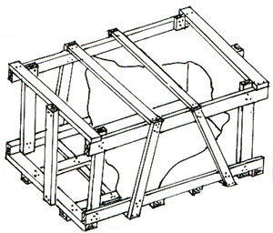 Hovertrek Crate Standard Air Shipping