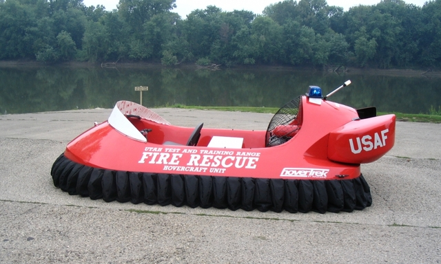 UTTR Neoteric Fire Rescue hovercraft